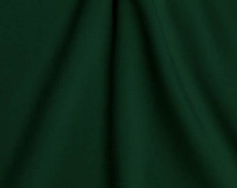 Stretch Fabric- Spandex Fabric - Hunter Green Fabric, Four way Stretch Fabric by the Yard, Meter, 3/4 Yard Item# RXPN-AS04