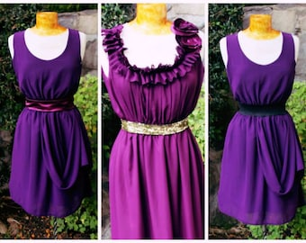Mismatch bridesmaid dress in deep country purple-pick your color