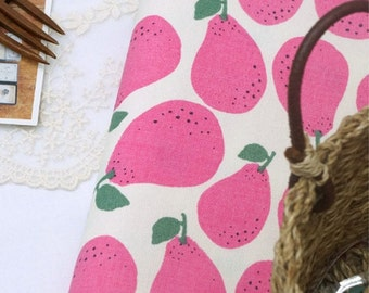 Oxford Cotton Fabric Pear Pink By The Yard