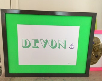 "Neon Green - ""Destination"" Art"