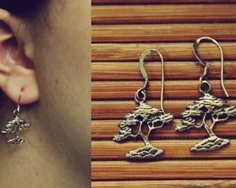 Bonsai Tree Earrings