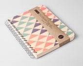 2014 Weekly Planner Calendar Diary Day Spiral A5 Triangle This Day Planner - Great Christmas Gift Idea - TheBigCalendar