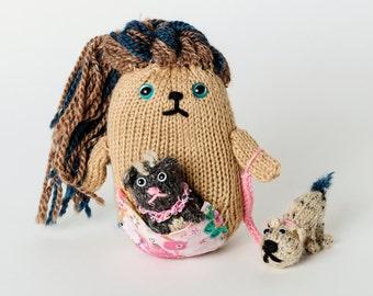 Petula, keeper of the pets