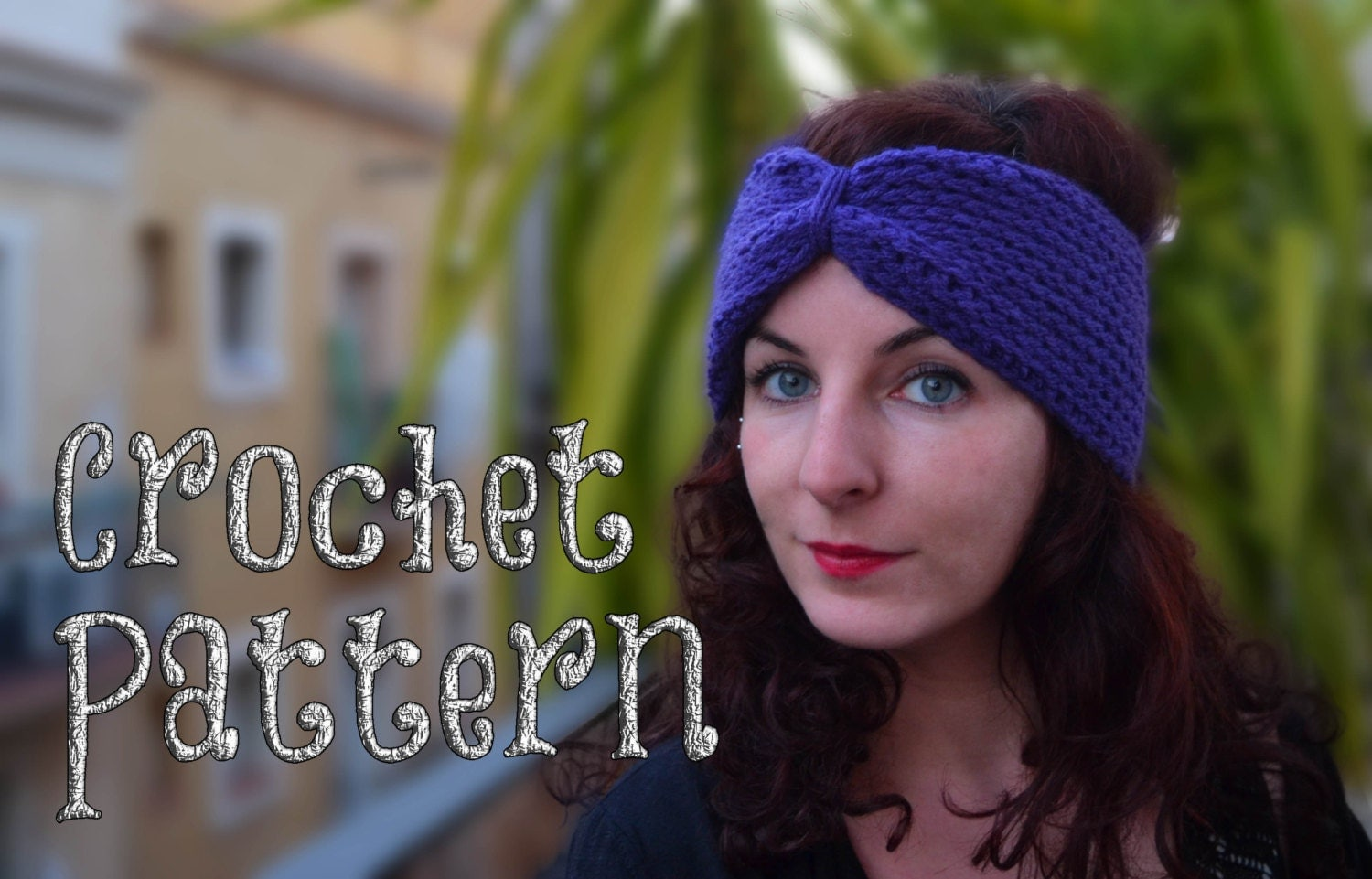 Crochet pattern cool turban headband tutorial crochet turban this is a digital file baditri Images