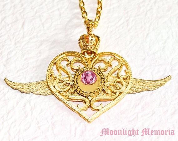 Sailor Moon Necklace Sailor Moon Crisis Moon Compact
