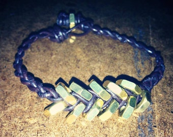 Hex Nut Braided Bracelets (Mens and Womens)