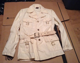 Campus deadstock vintage jacket made in USA Safari coat belted boys 18 or 20 pick 1 wear jeans pants sneakers shoes