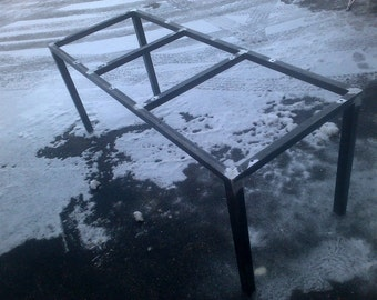 Steel Metal Table Frame - Any size & Color!