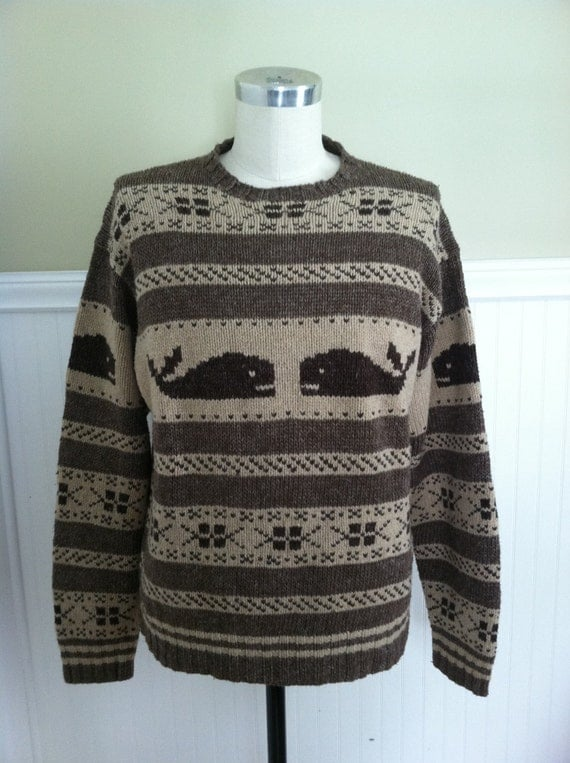 Wool Whale Sweater 109