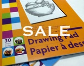 Artists Paper Pads, Drawing, Sketching, Painting, Tracing Pads of Paper, Art Room Materials