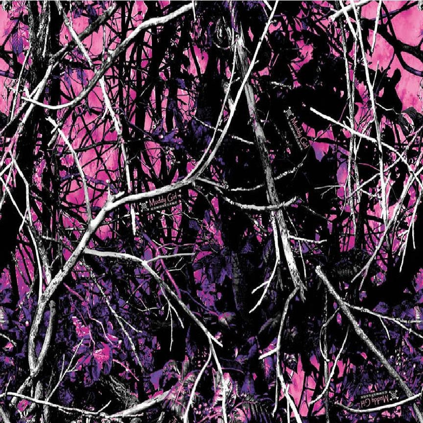 Muddy Girl Pink Camo Print OUTDOOR truck/auto air release
