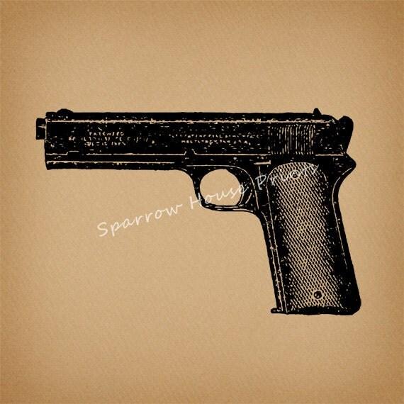 gun print wallpaper - photo #5