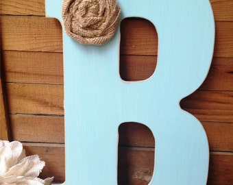 13 inch Custom Letter for Home Decor,Nursery Letter,Photo Prop,Rustic Letter,Wedding Gift,Bridesmaid Gift,Gifts Under 20,Farmhouse