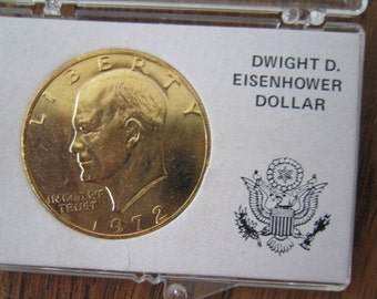 Popular Items For Eisenhower Dollar On Etsy