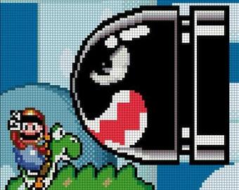 Super Mario World Bullet Bill