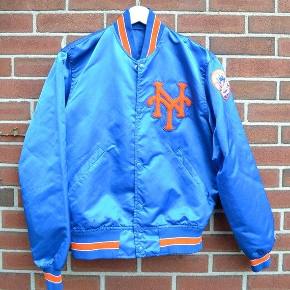 NY Mets Starter Satin baseball jacket mlb mens vintage