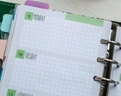 Personal diary insert - Week on two page (WO2P) PRINTABLE