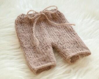 Pattern - Luxuriously Soft Newborn Knit Shorts