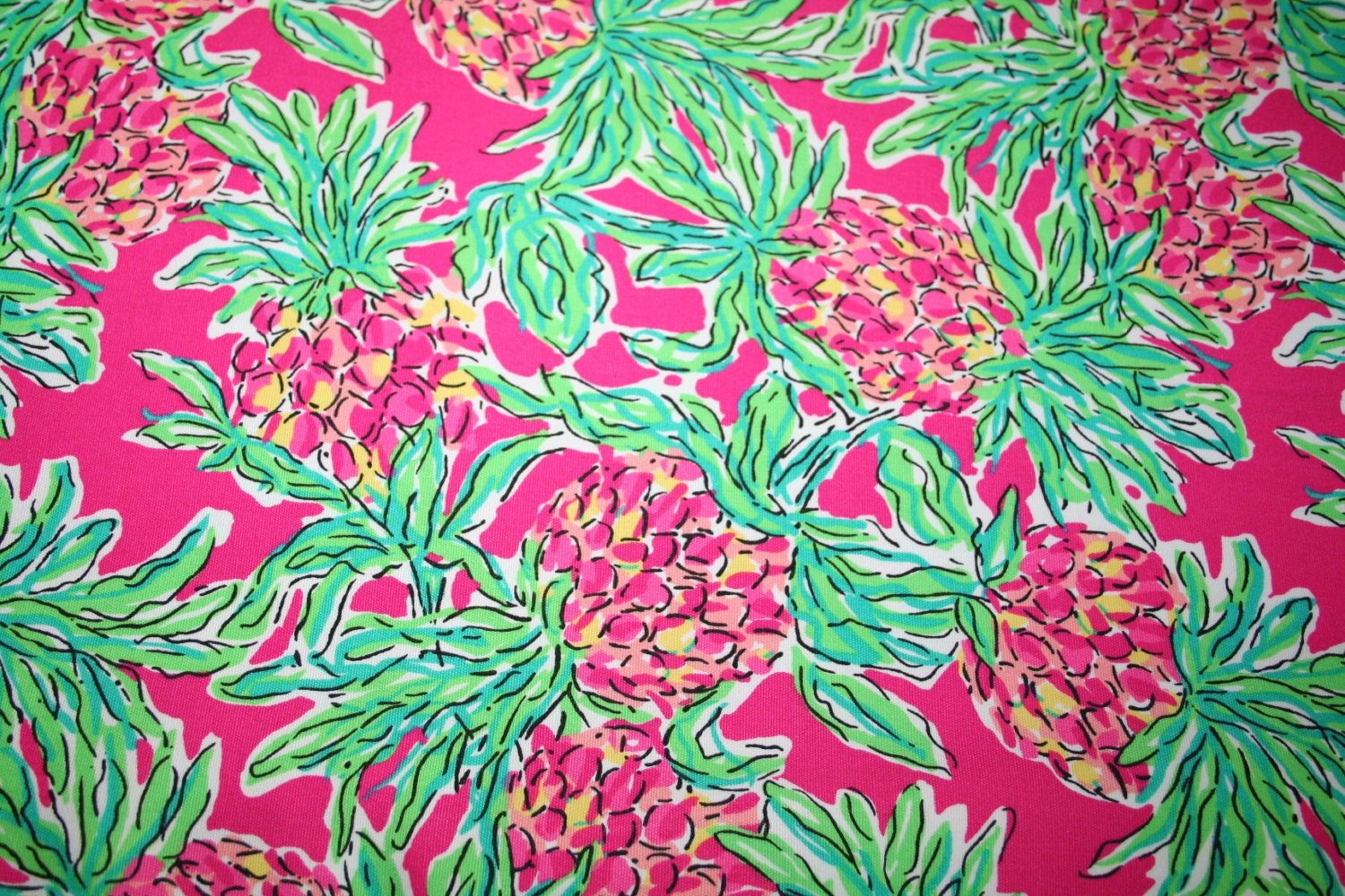Lilly Pulitzer Fabric Lilly Pulitzer Fabric Orchid Pink Spike The Punch