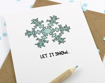 Christmas Card - Let It Snow