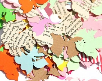 200 Butterfly Confetti / Customized Stars / Various Colours / Rustic Wedding, Table Décor