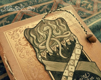 Harry Potter, Slytherin bookmark