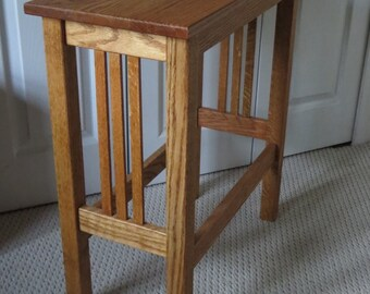 Mission Style End Table,  Side Table