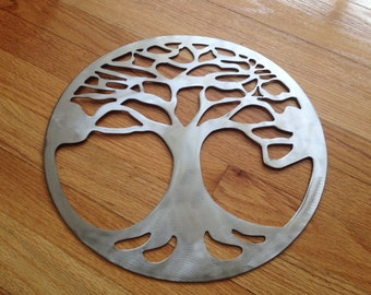Metal Tree of Life Wall Hanging