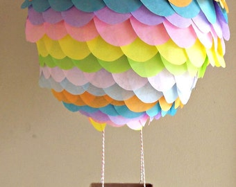 Items similar to Hot Air Balloon Paper Lantern 10 inch for parties