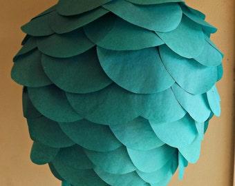 DIY Teal Hanging Paper Lantern Kit