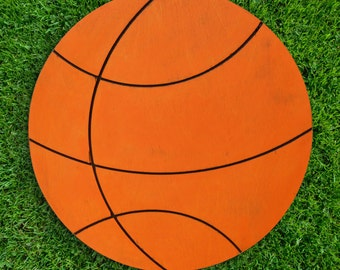 """19"""" Unfinished Basketball (Can be cut with or without grooves)"""