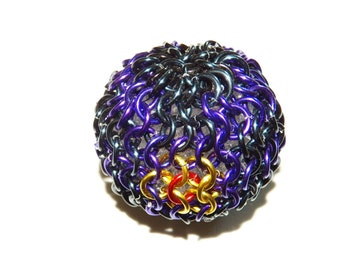 Chainmaille Mewtwo's Ball