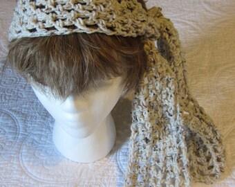 Crochet Headscarf,Headscarf,Gypsy Headscarf,Headwrap,Boho Headwrap,Bohemian Wrap,Gypsy,Headband,Hair Fashion,Hair Accessory,Gypsy Headwrap