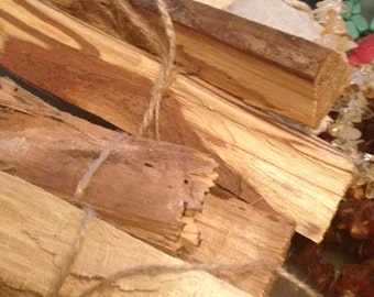 Palo Santo  (Holy Wood) Responsibly havested from fallen trees in Peru. Great for grounding and meditation!