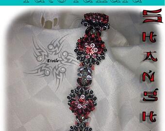 Pattern Shanghai bracelet (Italian/french)