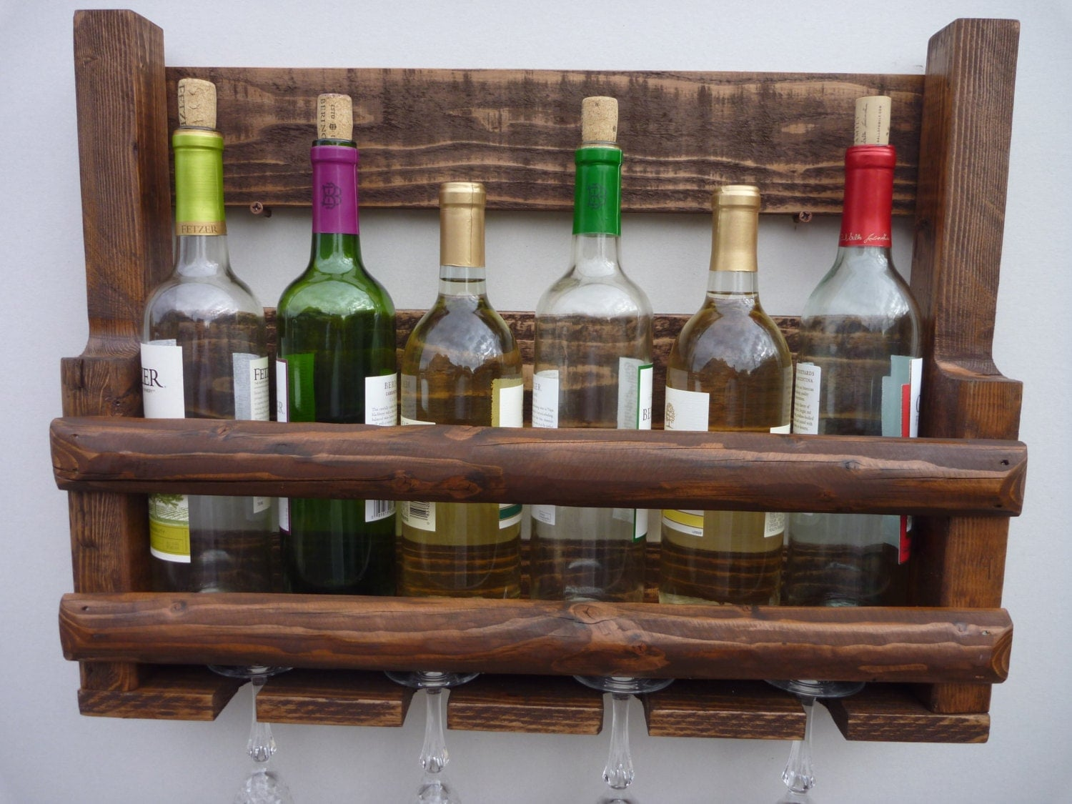 Wine Racks For Home: Wine Rack.Wine Bar.Bar Shelf.Wood Wine Rack.Wooden Home