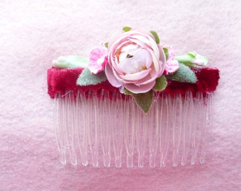 Brides, Bridesmaids, and Flower Girl Hair Combs