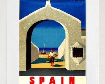 Spain Art Print Spanish Travel Poster Home Decor (ZT342)