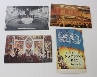 Instant postcard collection...vintage postcards of the United Nations