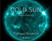 Cold Sun. Binaural Meditation Music