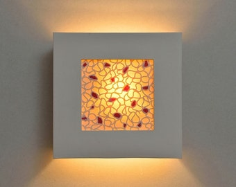 Sconce. Modern wall sconce. Wall light fixture. Porcelain lamp. Ceramic lighting.