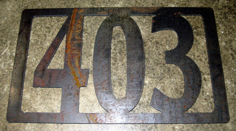 custom rustic address sign by designsbyrh on etsy