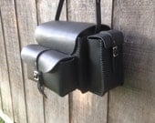 Handcrafted Leather Shell Bag