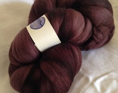 Blue Moon Fiber Arts Handpainted Roving, 100% Polwarth - Porcini
