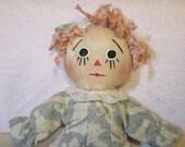 Cloth doll, rag doll Prim Doll, an old fashion charm