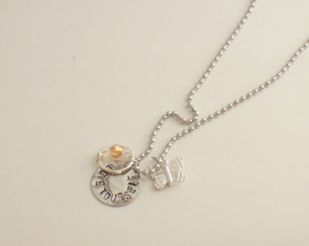 Love Yourself - Self-Injury Awareness and Support Necklace