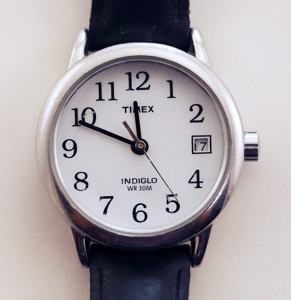timex indiglo watch instructions wr30m