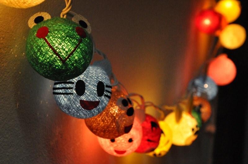 string lights for kids bedroom