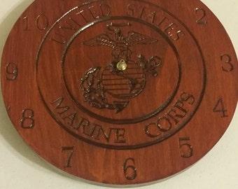 United States Marine Clock