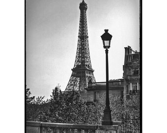 Printed photography of Paris -  La Tour eiffel